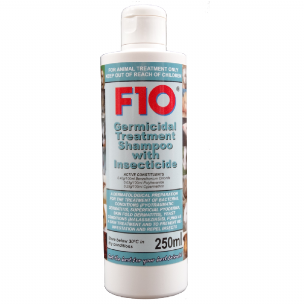Germicidal Treatment Shampoo with Insecticide 250ml